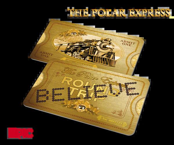 North Pole Themed Raffle Tickets