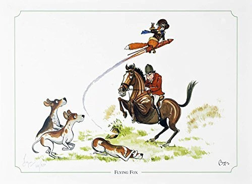 Flying Fox Fox Hunting Horse And Hound Limited Edition