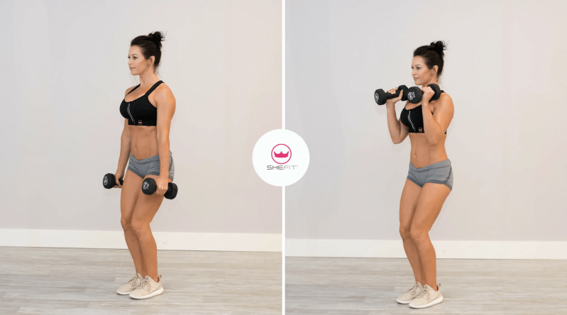 6 Moves for Strong Triceps and Biceps for Women