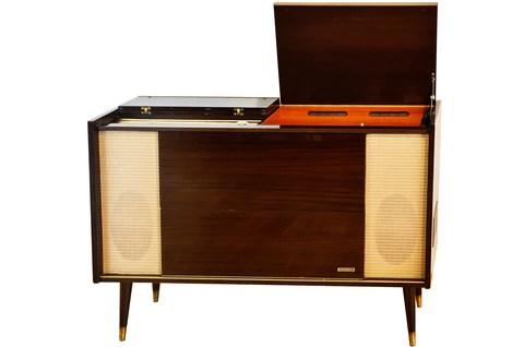 meuble hifi vintage grundig ks440 1963 charlestine