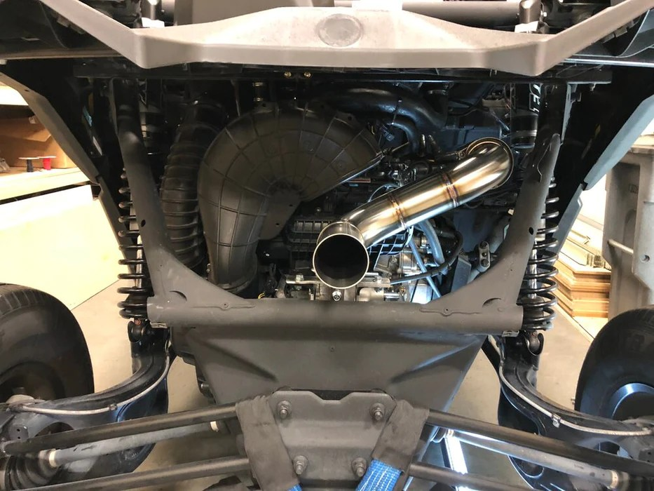 treal performance straight pipe exhaust 17 20 can am x3