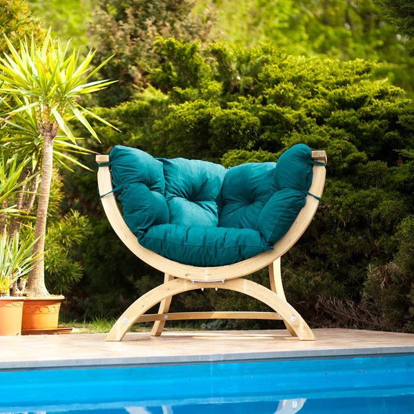 Sienna Uno Sofa Outdoor Relaxation Chair | Spa Living on Outdoor Living Spa id=83040