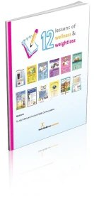 12 Lessons Kids and Teens Workbook - Nutrition Education Store