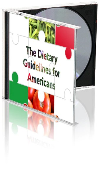 7 dietary guidelines for americans