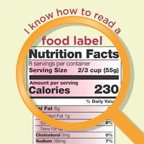 New Food Label Stickers 2