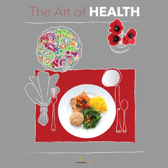 Art of Health Bulletin Board Banner 24