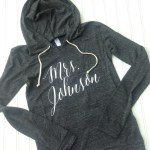 Personalized Bride Hoodies Gifts Foxblossom Co