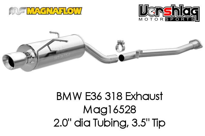 bmw 328 magnaflow touring series cat back exhaust system