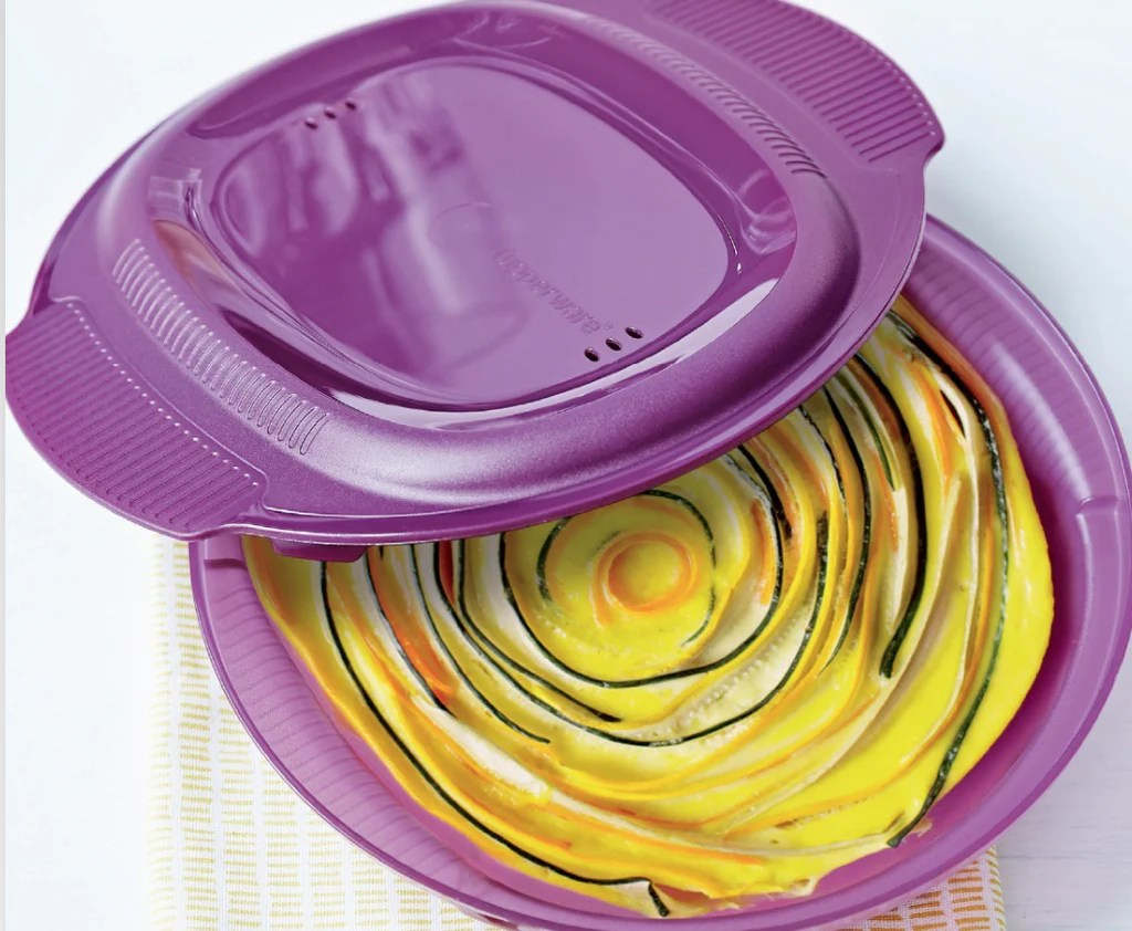 tupperware micro healthy delight microwave dish