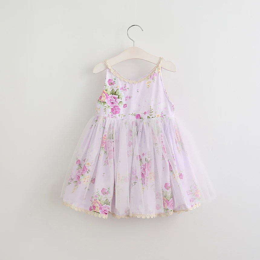 baby toddler girl s shabby chic dress roses lace pink blue lilac sz 2t 6 girl children s flower dresses usa shipping