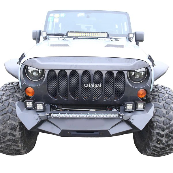 Safaripal Jeep Wrangler Monster Angry Front Grille Grill