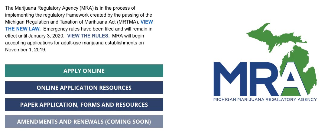 Cannabis Microbusiness License Michigan Michigan Cannabis Microbusiness License