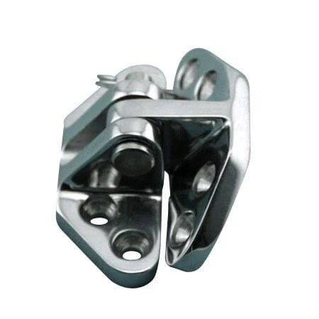 Stainless Steel Marine Heavy Duty Hatch Hinges Angle Base
