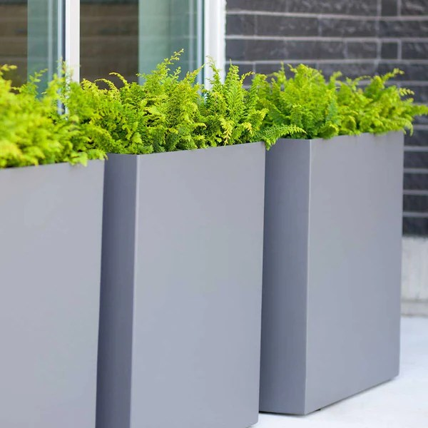 Outdoor Tall Planters