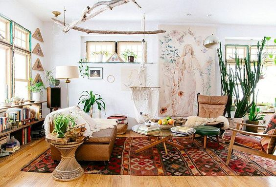 Boho Interior Design   What Is Boho Design     INTERIORS ONLINE Boho style is one of those styles that blends into different cultures and  different times  Hailing from the central eastern European ancient bohemia