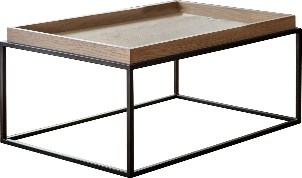 fareham tray coffee table natural with grey wash
