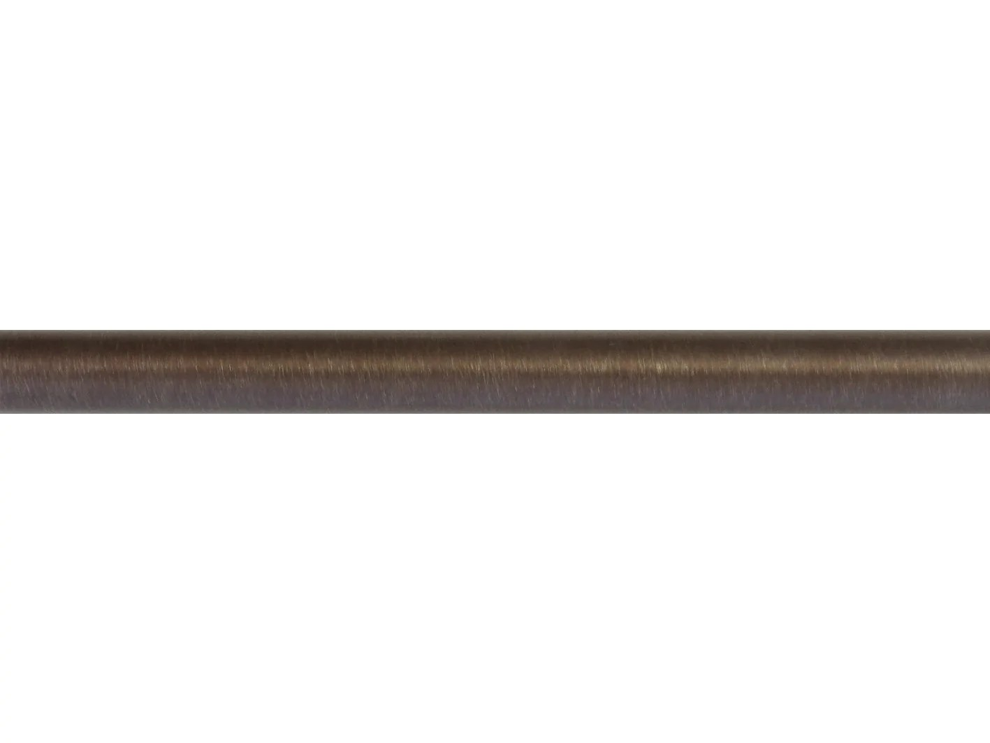 30mm dia brushed bronze curtain pole