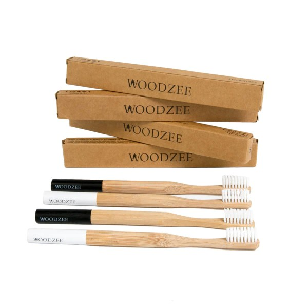 Men s   Women s Wood Watches  iPhone Cases   Wooden Toothbrushes     Woodzee Bamboo Toothbrush Pack