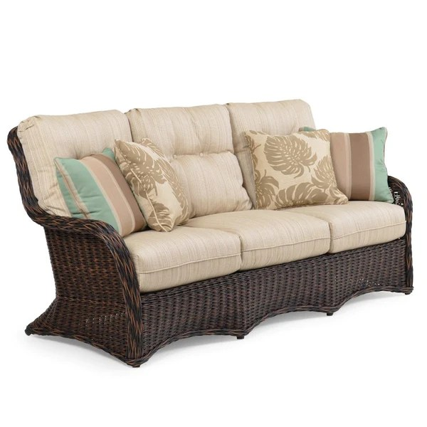 Watermark Living Riverside Outdoor Wicker Sofa 4303 ... on Outdoor Living Wicker  id=93584