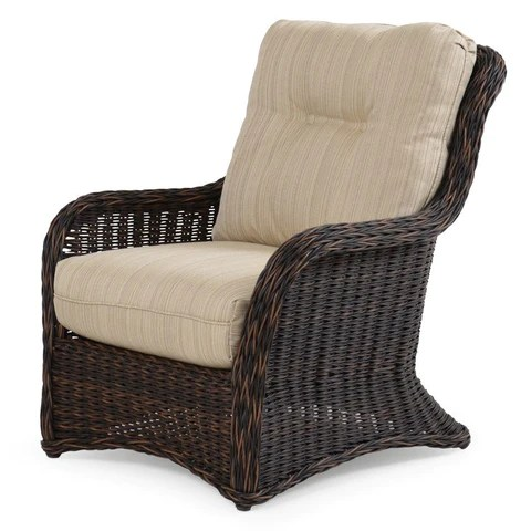 Watermark Living Riverside Outdoor Wicker Lounge Chair ... on Outdoor Living Wicker  id=88691
