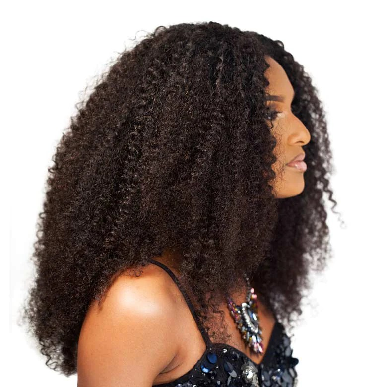 Curly Natural Hair Clip In Amp Weft Extensions 3b 3c Curl