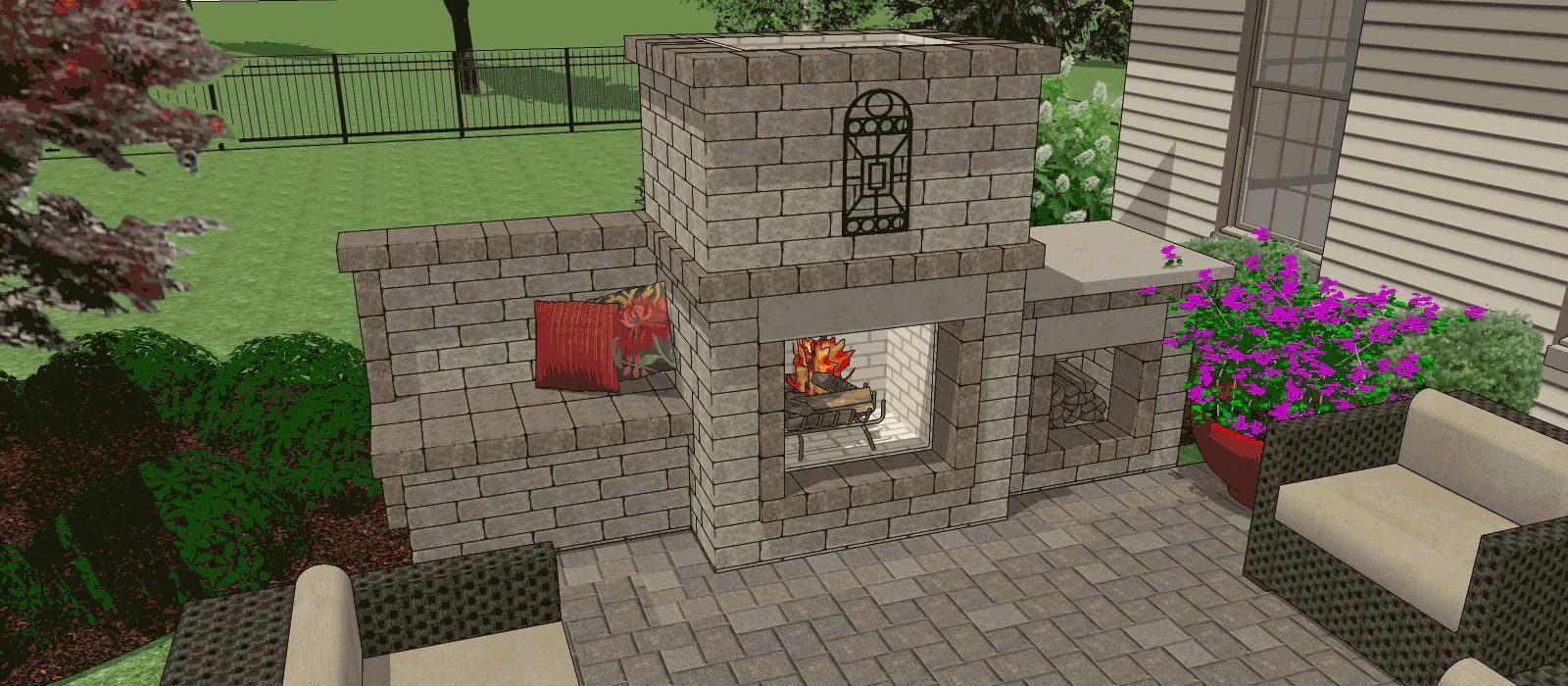 Backyard Patio Ideas Stone