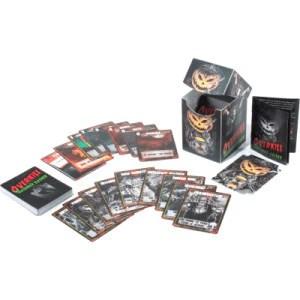 halloween slasher card game
