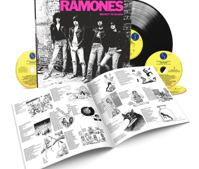 Rocket To Russia Th Anniversary Deluxe Edition Cd Lp
