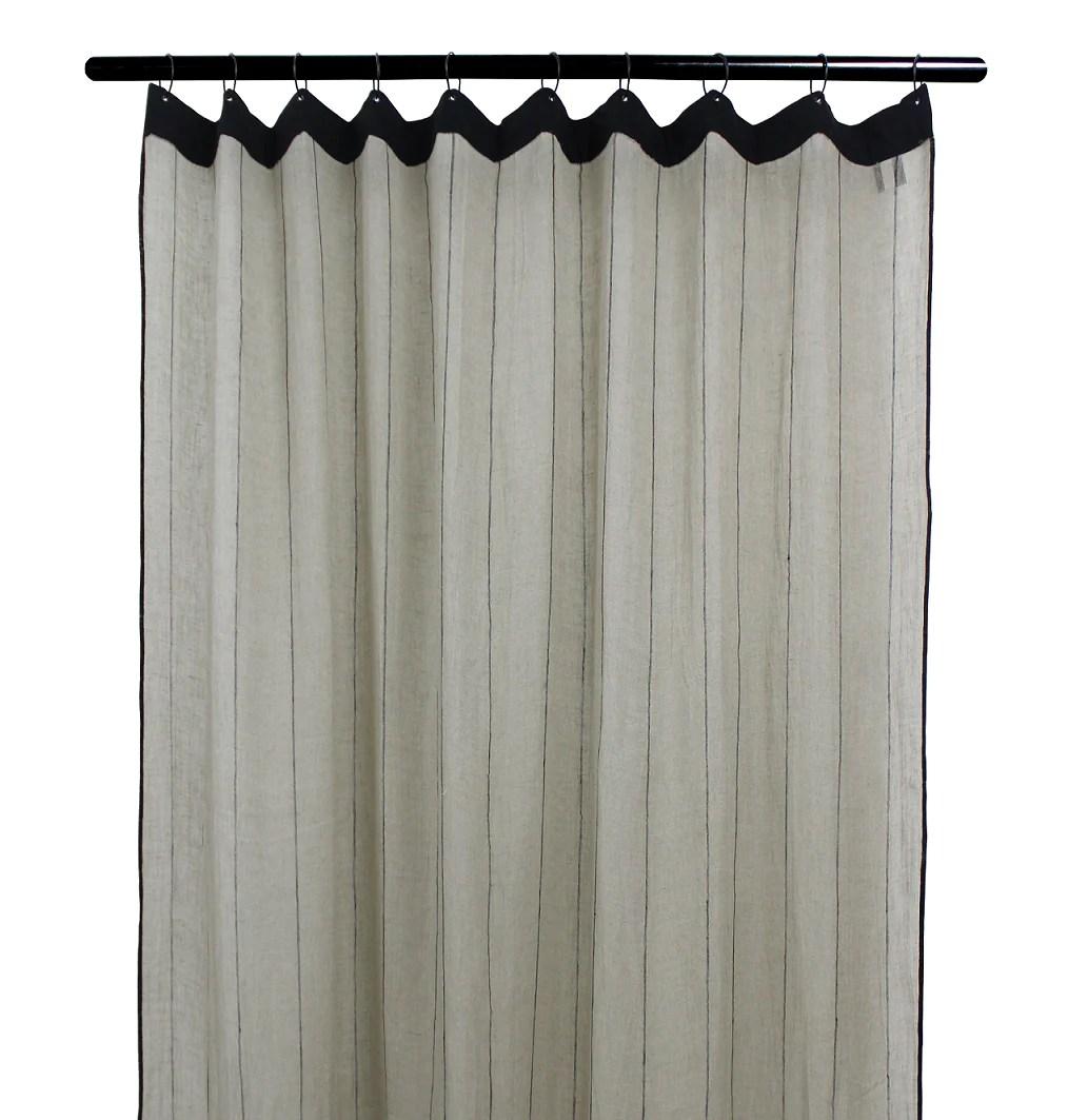 2 coloris disponibles harmony rideaux en lin calvi 140x280 cm