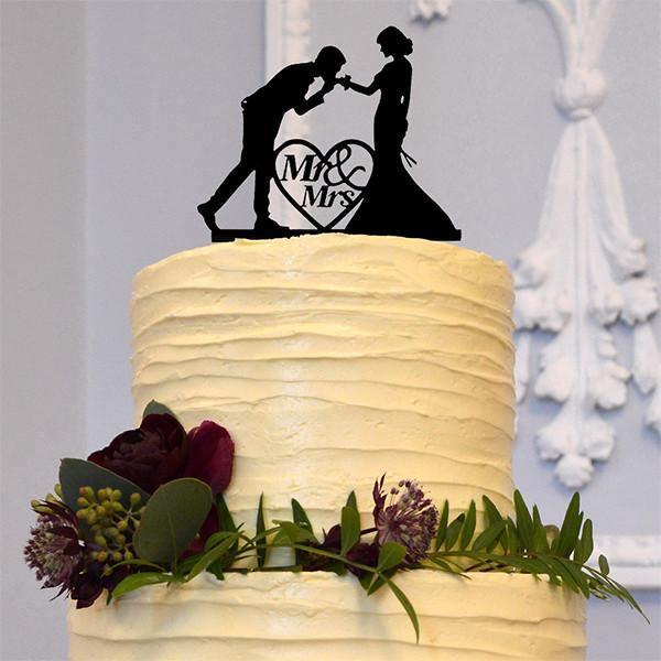 Heart Shaped Wedding Cake Decorations   deweddingjpg.com