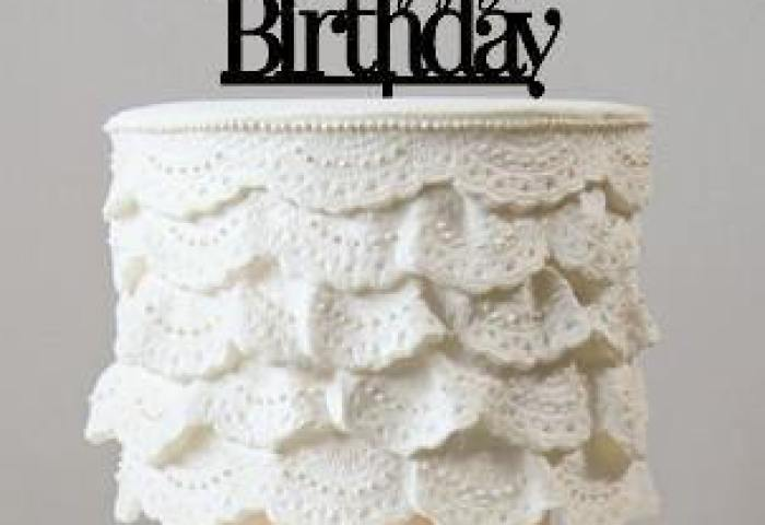Happy Birthday Cake Toppers Party Supplies Accessories