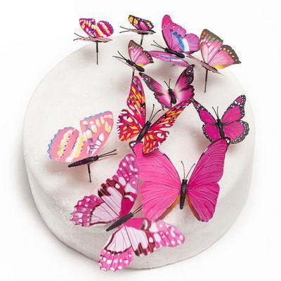 Butterfly Cake Toppers Rustic Vintage Fantasy Wedding