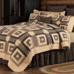 Kettle Grove Cabin Over Sized Luxury King Quilt 105x120 Allysons Place