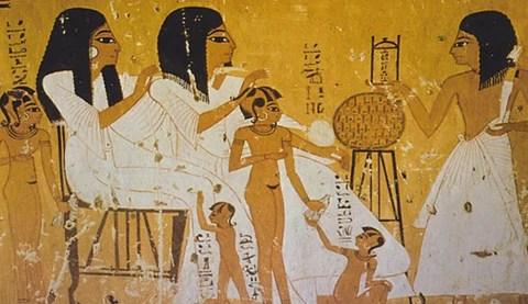 Babyshower antikken egypt og hellas