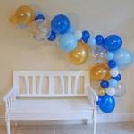 Navy Balloons Royal Blue Confetti Gold Balloons For Men Birthday Decorations And Home Garden Balloons
