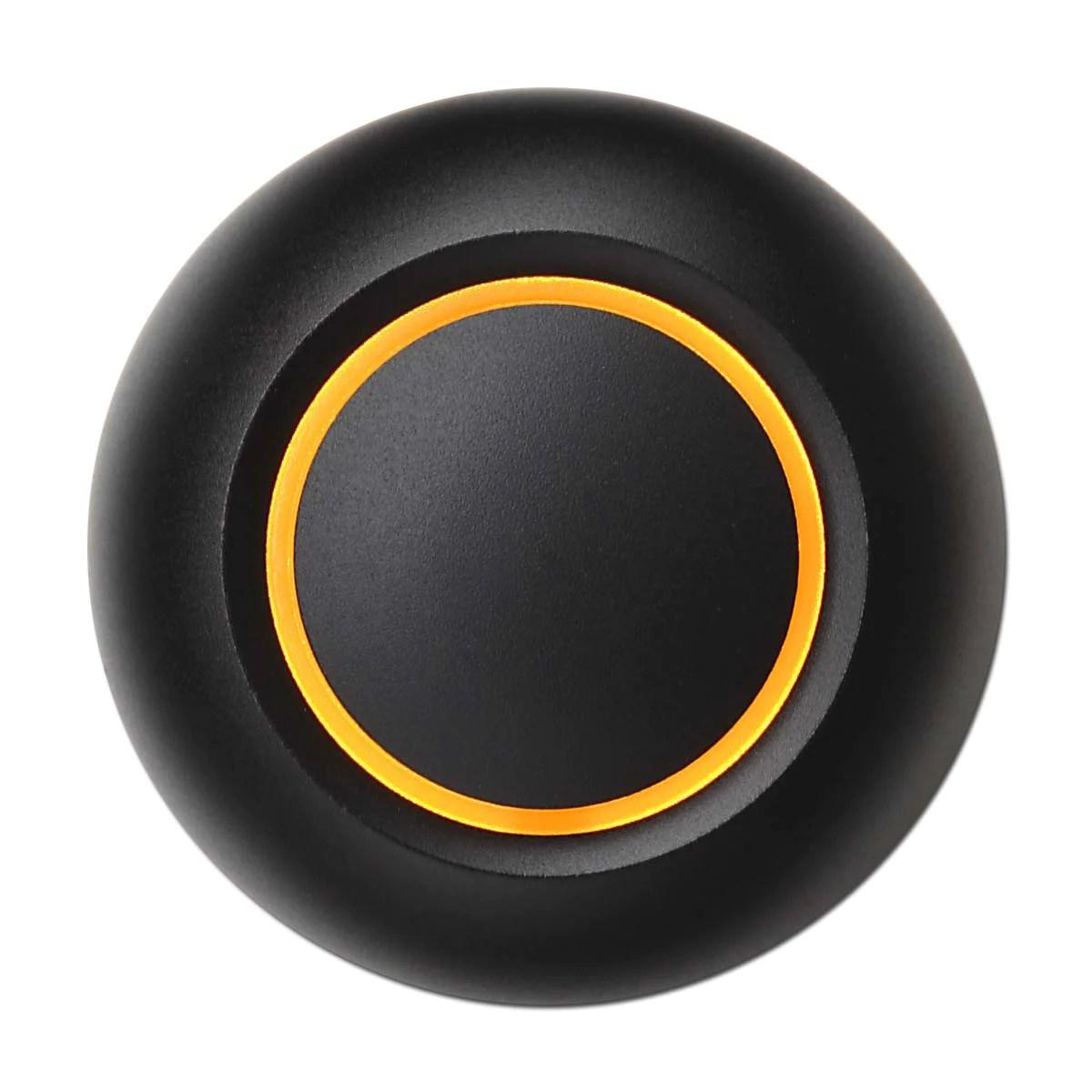 True Black Doorbell Button Spore