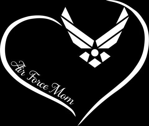 Download Air Force Mom Vinyl Sticker Decal - MotherProud