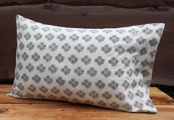 suzani flower smallcolour ebony pillow cases kiska textiles