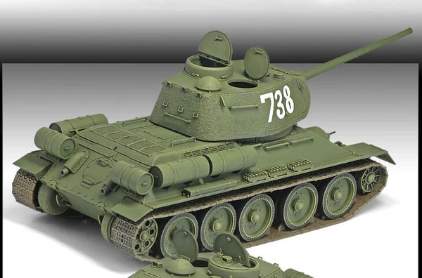 Academy 1:35 - T-34/85 No. 112 Factory Production - Panzer ...
