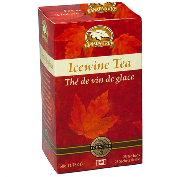 Canada True Tea Box Icewine Tea 25 Bags Baskets