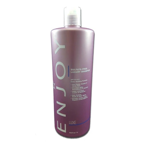 Enjoy Sulfate-Free Luxury Shampoo, 33.8 oz - One Stop Beauty