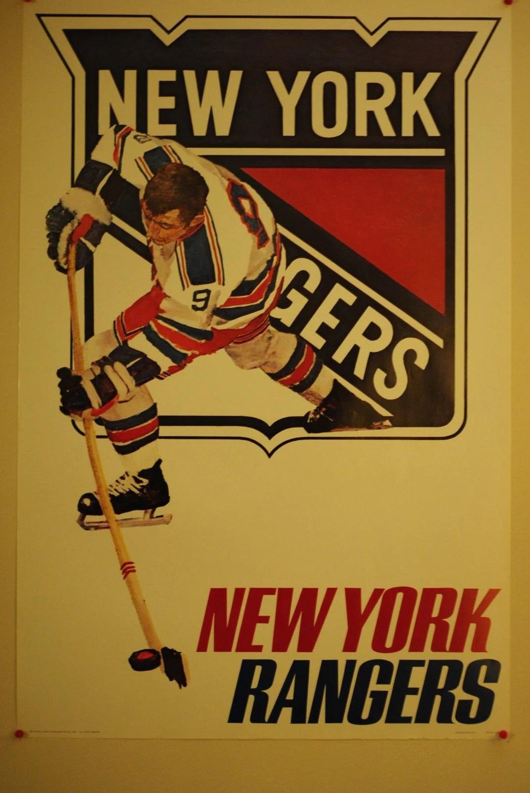nhl posters new york rangers