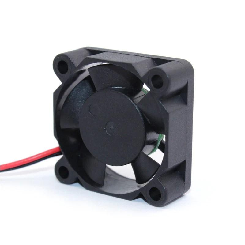 diy reprap dc 5v 2pin mini cooling brushless fan 30mm 30x30x10mm small etzetra