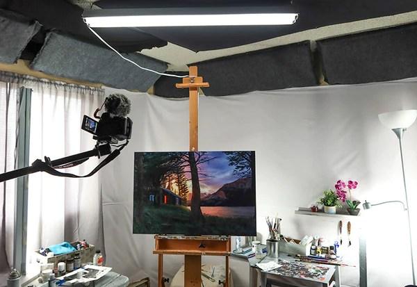 lighting your art studio which lights
