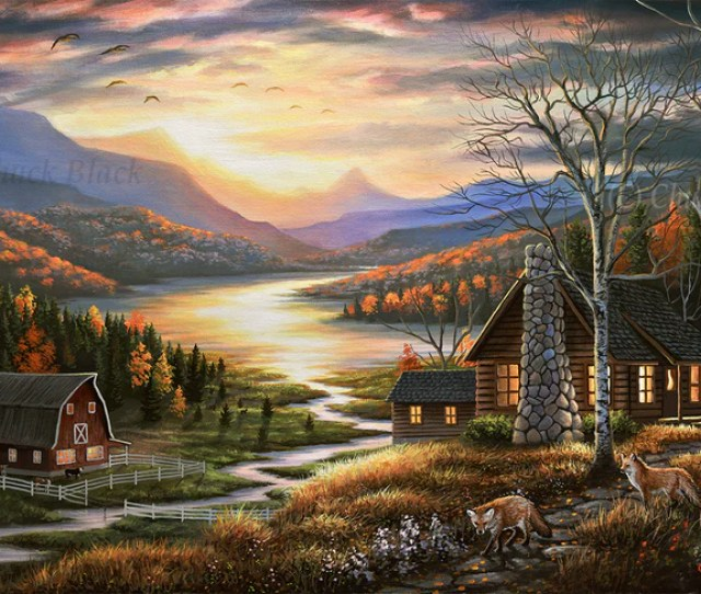 Art Print Wildlife And Landscape Art By Chuck Black