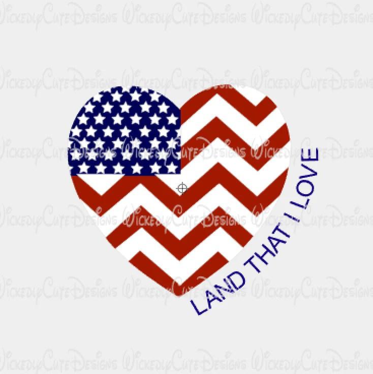Download Land That I Love SVG, DXF, EPS, PNG Digital File ...