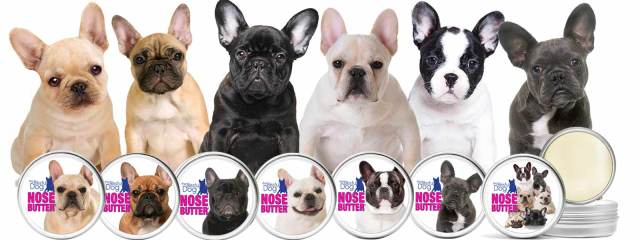 french bulldog nose butter collection for your frenchie's dry nose