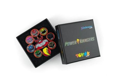 Power Rangers Dino Fury Exclusive 2.5 Inch Deluxe Enamel Pin Toynk Exclusive