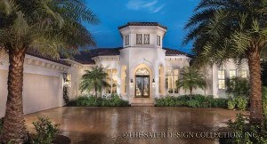 Mediterranean House Plans   Tuscan Home Plans   Sater Design Collection Mediterranean House Plans