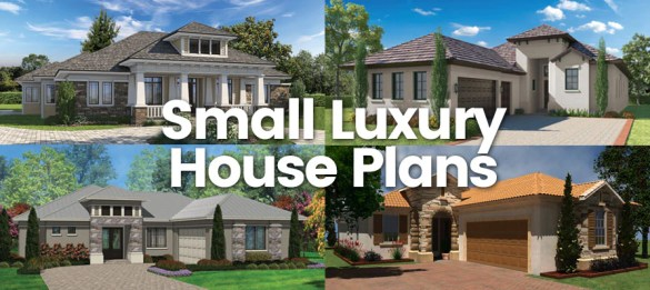 Small Luxury House Plans   Sater Design Collection Home Plans Small Luxury House Plans  An Over View